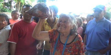 Municipalidad expendió proteína roja en comunidades Sanfernandinas